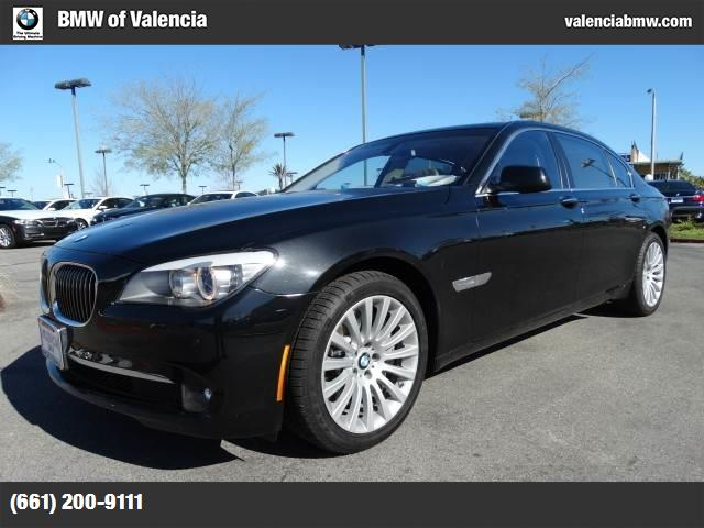 2012 BMW 7 Series 750Li ActiveHybrid traction control dynamic stability control abs 4-wheel ke