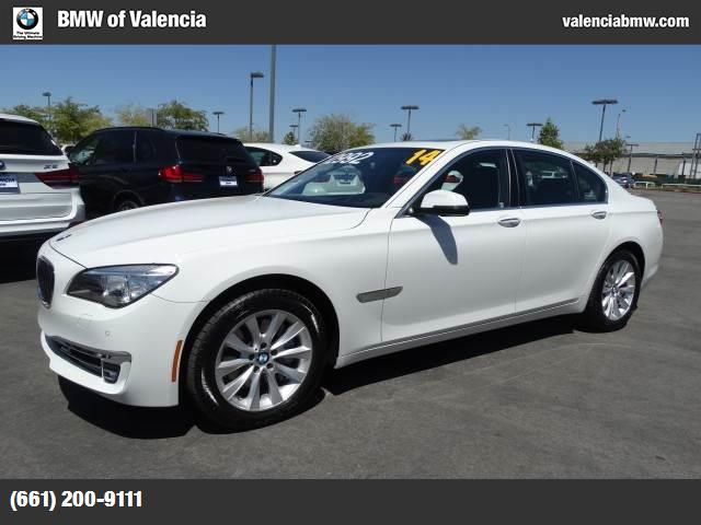 2014 BMW 7 Series 740i traction control dynamic stability control abs 4-wheel keyless entry k