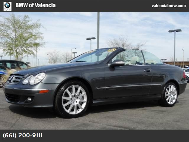 2007 Mercedes CLK-Class 35L traction control slip control stability control abs 4-wheel air