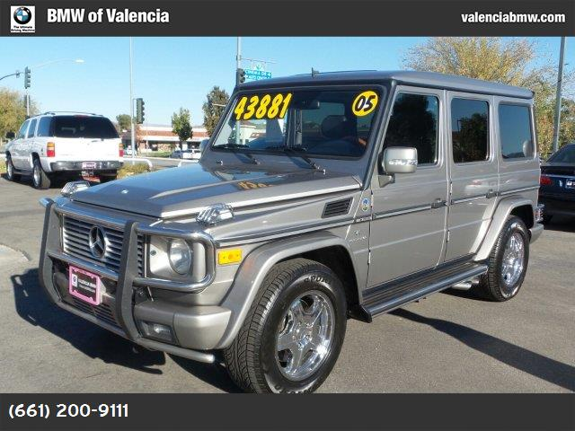 2005 Mercedes G-Class 55L AMG traction control abs 4-wheel air conditioning power windows po