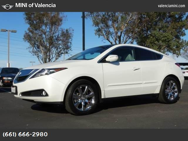 2010 Acura ZDX Tech Pkg aspen white pearl all wheel drive power steering 4-wheel disc brakes al