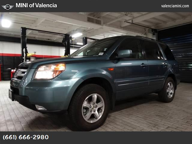 2006 Honda Pilot EX-L with NAVI traction control stability control front wheel drive tires - fro