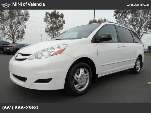2006 Toyota Sienna LE front wheel drive tires - front all-season tires - rear all-season tempora