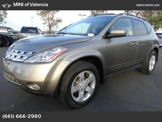 2003 Nissan Murano SL abs 4-wheel air conditioning power windows power door locks cruise cont