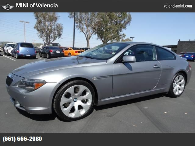 2005 BMW 6 Series 645Ci traction control stability control abs 4-wheel air conditioning power
