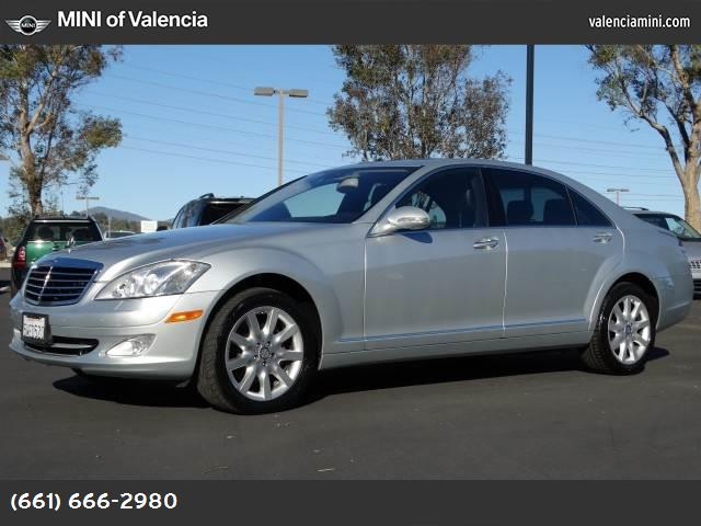 2007 Mercedes S-Class 55L V8 hill ascent control traction control stability control abs 4-whee