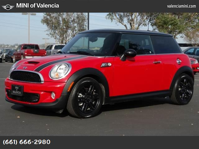 2013 MINI Cooper Hardtop S chili red turbocharged front wheel drive keyless start power steerin