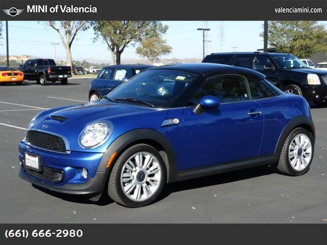 2012 MINI Cooper Coupe S dynamic stability control abs 4-wheel keyless entry air conditioning