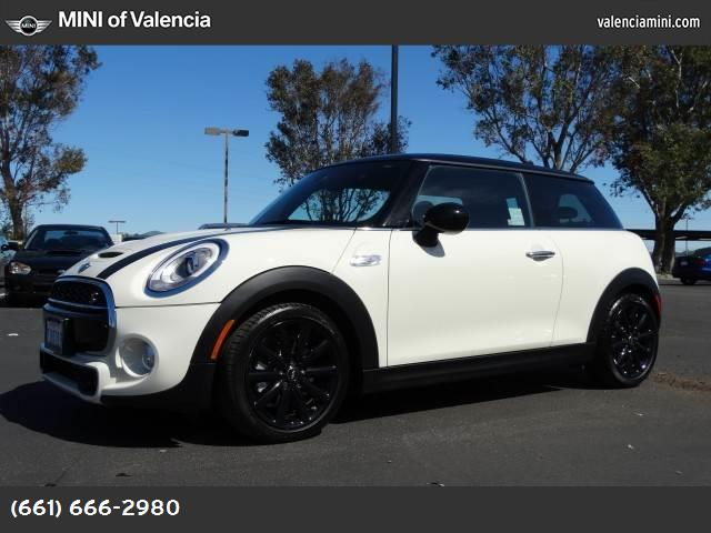 2015 MINI Cooper Hardtop S pepper white turbocharged front wheel drive power steering abs 4-wh