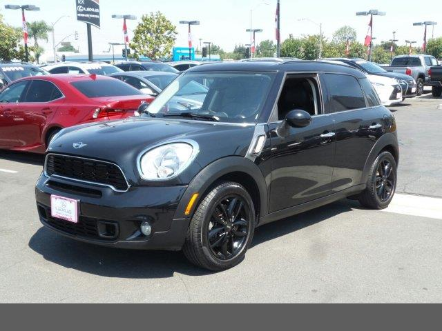 2011 MINI Cooper Countryman S absolute black metallic turbocharged front wheel drive keyless sta