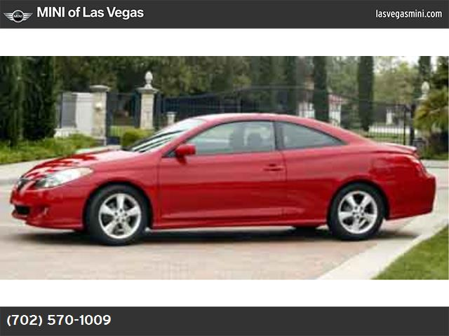2004 Toyota Camry Solara SE special color paint front wheel drive tires - front all-season tires