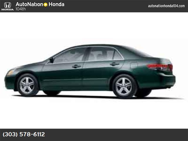 2004 Honda Accord Sdn EX abs 4-wheel air conditioning power windows power door locks cruise c