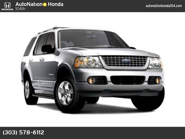 2005 Ford Explorer Limited 46l sohc v8 engine  std four wheel drive traction control stabilit