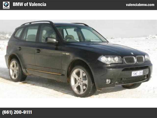 2005 BMW X3 25i hill descent control stability control abs 4-wheel air conditioning power wi