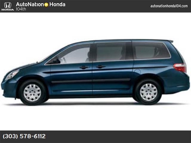 2005 Honda Odyssey LX 121126 miles VIN 5FNRL38295B086844 Stock  1213804802 8490