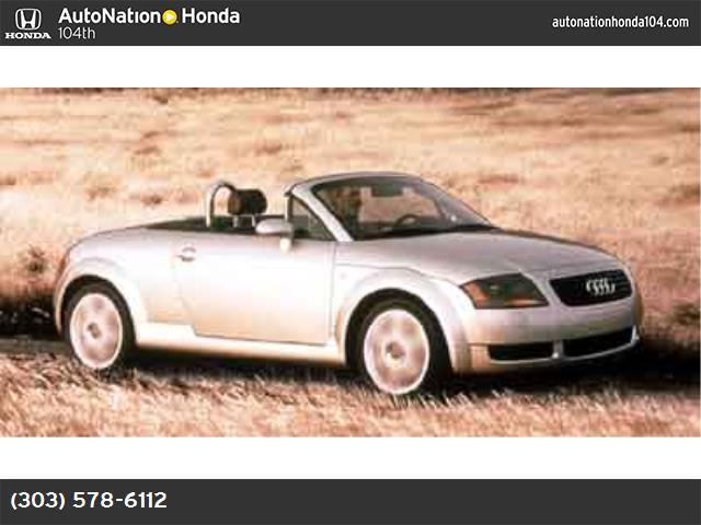 2001 Audi TT  abs 4-wheel air conditioning power windows power door locks cruise control pow