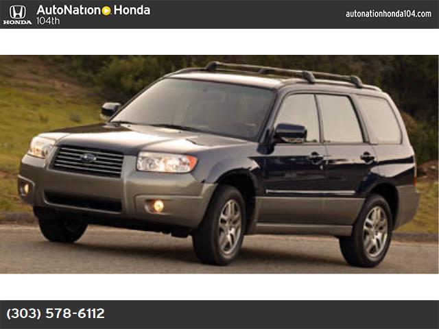 2006 Subaru Forester 25 X LL Bean Edition 113327 miles VIN JF1SG67676H756023 Stock  114134