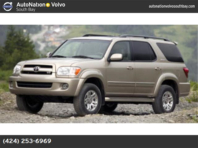 2006 Toyota Sequoia Limited traction control stability control rear wheel drive tow hitch tires