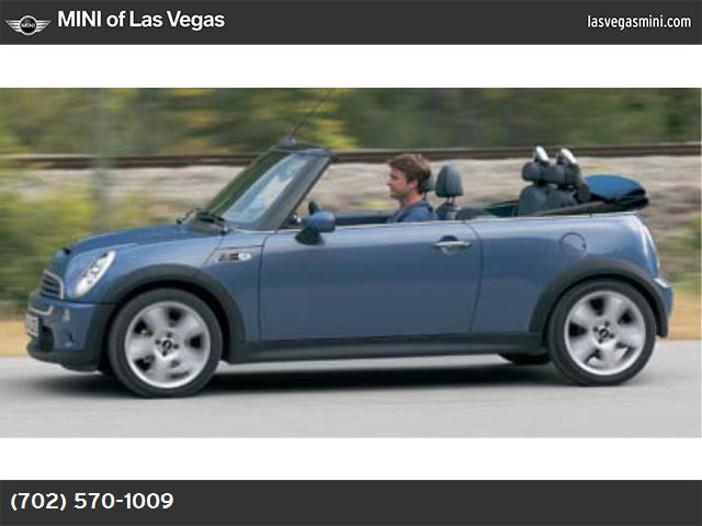 2007 MINI Cooper Convertible S traction control stability control abs 4-wheel air conditioning