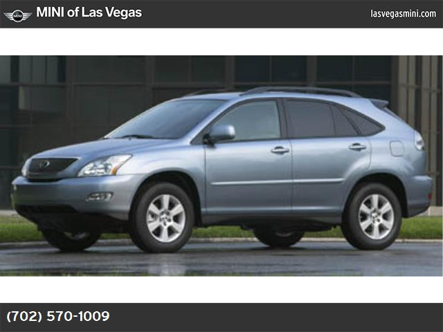 2007 Lexus RX 350  traction control stability control all wheel drive tires - front all-season