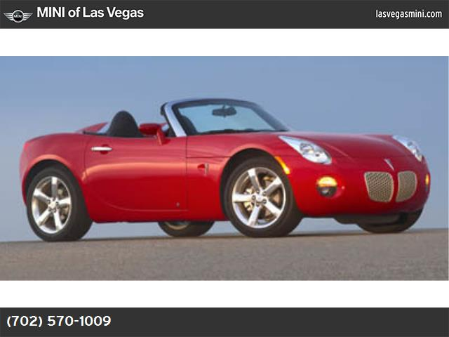 2007 Pontiac Solstice  air conditioning power windows power door locks cruise control power ste