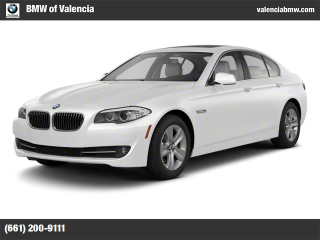 2012 BMW 5 Series 528i alpine white turbocharged keyless entry power door locks engine immobili