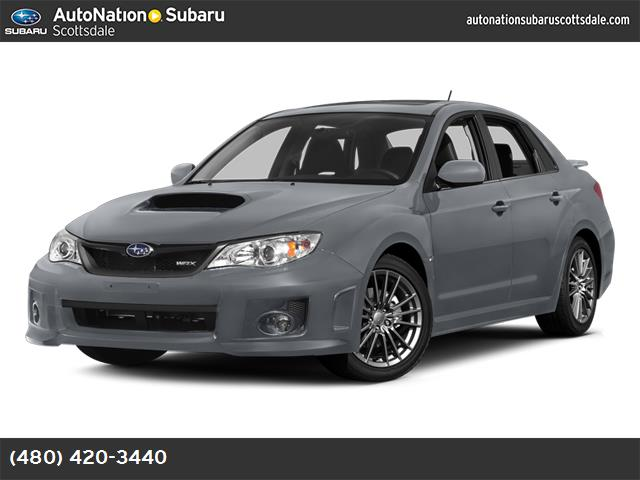 2014 Subaru Impreza Sedan WRX WRX Limited carbon black  leather-trimmed upholstery ice silver meta
