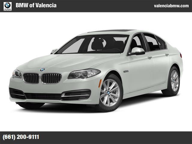 2015 BMW 5 Series 528i alpine white black  dakota leather upholstery dark wood trim heated front