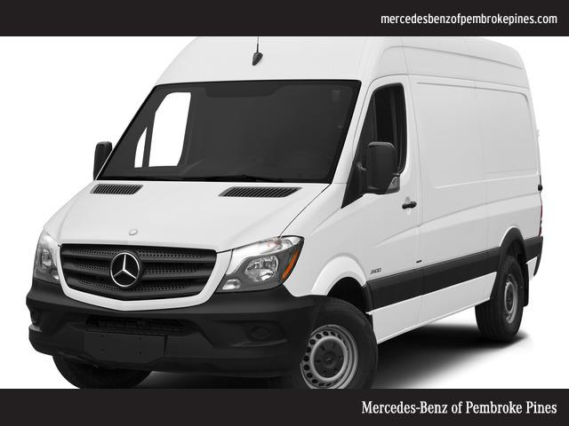 2015 mercedes benz sprinter cargo 3500 144 wb drw cargo for Mercedes benz of pembroke pines fl