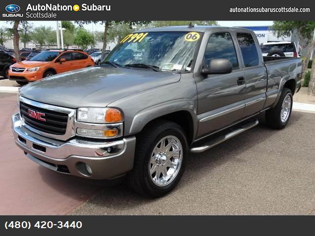2006 GMC Sierra 1500 SLE1 z71 off-road pkg abs 4-wheel air conditioning power windows power d