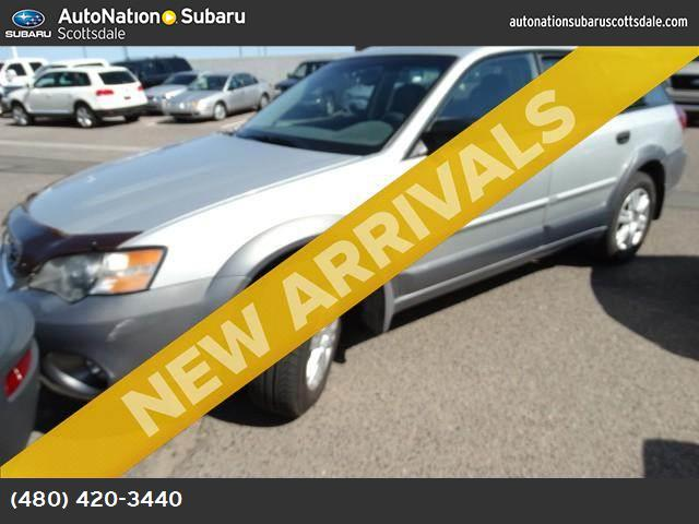 2005 Subaru Legacy Wagon Natl Outback abs 4-wheel air conditioning power windows power door