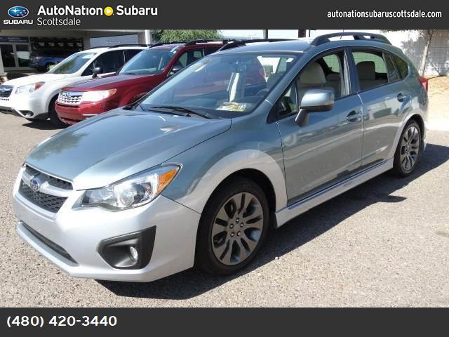2012 Subaru Impreza Wagon 20i Sport Premium all weather pkg hill start assist control traction c