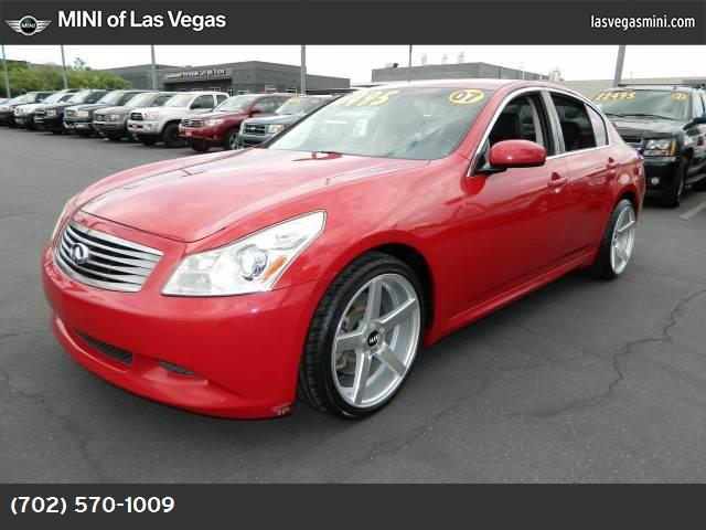2007 Infiniti G35 Sedan Sport traction control dynamic control abs 4-wheel air conditioning p