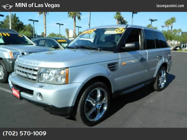 2008 Land Rover Range Rover Sport SC cold climate pkg traction control dynamic stability control
