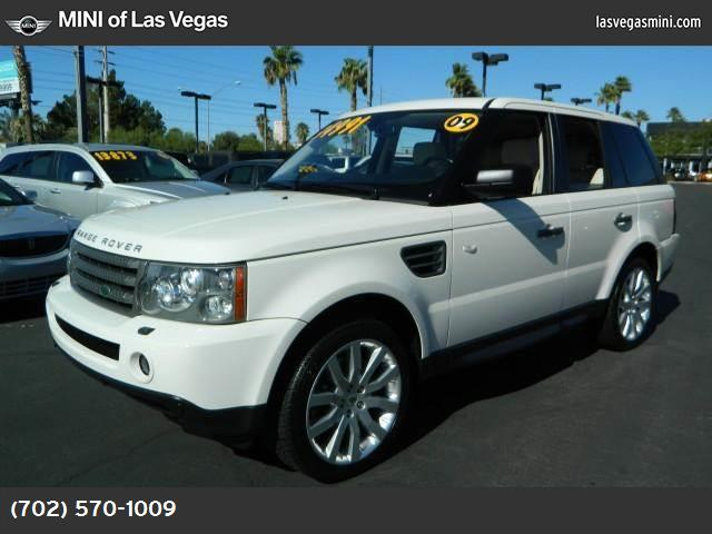 2009 Land Rover Range Rover Sport HSE traction control stability control abs 4-wheel air condi