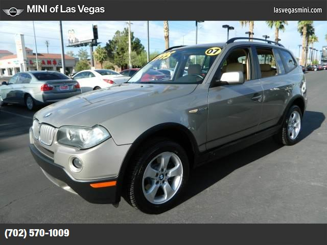 2007 BMW X3 30si hill descent control traction control stability control abs 4-wheel air con