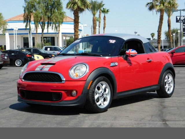 2012 MINI Cooper Coupe S sport pkg dynamic stability control abs 4-wheel keyless entry air co