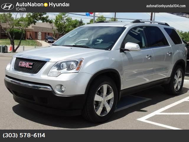 2012 GMC Acadia SLT2 power liftgate release preferred pkg traction control stabilitrak abs 4-w
