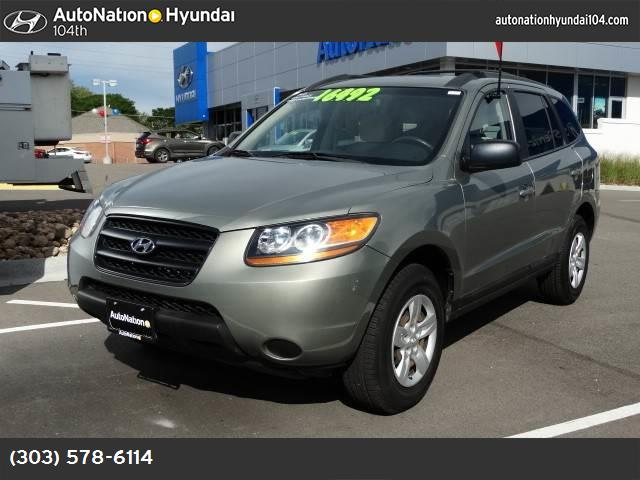 2009 Hyundai Santa Fe GLS traction control stability control abs 4-wheel air conditioning pow