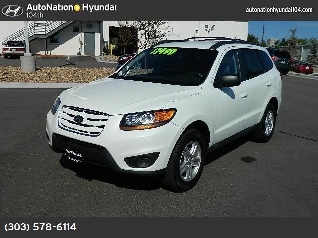 2010 Hyundai Santa Fe GLS traction control stability control abs 4-wheel keyless entry air co