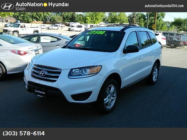 2012 Hyundai Santa Fe GLS downhill assist control traction control stability control abs 4-whee