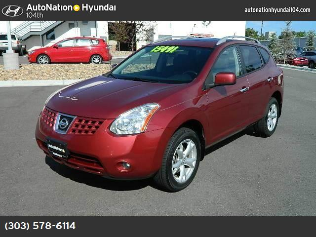 2010 Nissan Rogue SL traction control vchl dynamic control abs 4-wheel air conditioning power