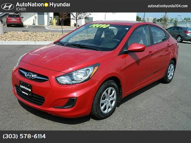 2012 Hyundai Accent GLS traction control stability control abs 4-wheel keyless entry air cond