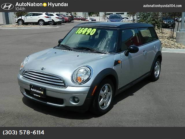 2009 MINI Cooper Clubman  traction control dynamic stability control abs 4-wheel keyless entry