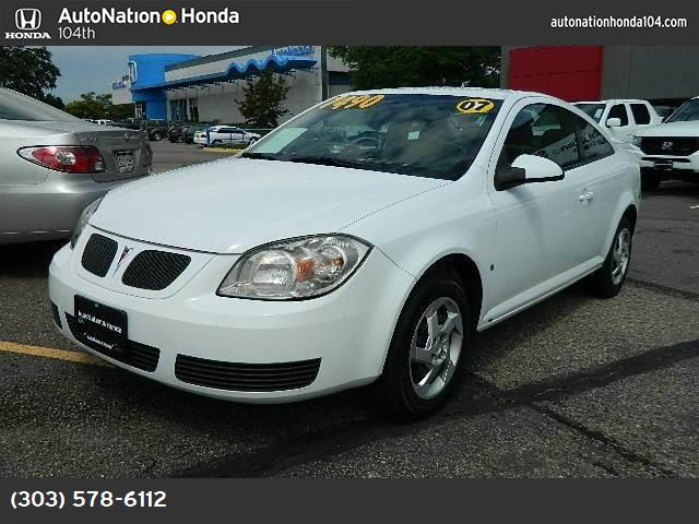 2007 Pontiac G5  air conditioning power windows power door locks power steering tilt wheel am