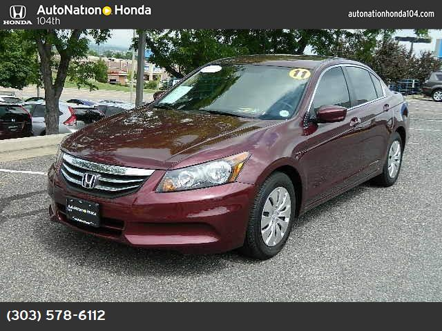 2011 Honda Accord Sdn LX traction control stability control abs 4-wheel keyless entry air con