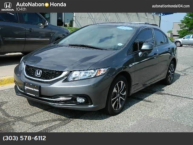 2013 Honda Civic Sdn EX-L traction control stability control abs 4-wheel keyless entry air co