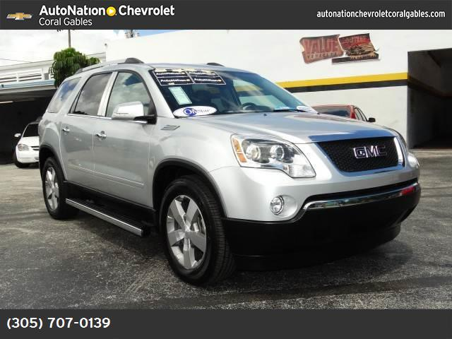 2012 GMC Acadia SLT1 preferred pkg traction control stabilitrak abs 4-wheel keyless entry ke