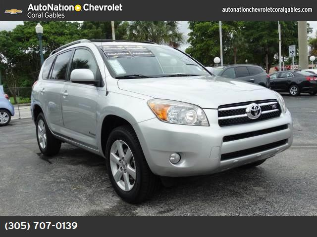 2007 Toyota RAV4 Limited traction control stability control abs 4-wheel air conditioning powe