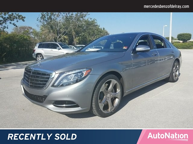 2015 Mercedes-Benz S-Class S 550 4MATIC Used Cars in Delray Beach, FL 33444